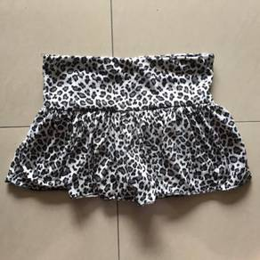 Leopard Girls Skirt