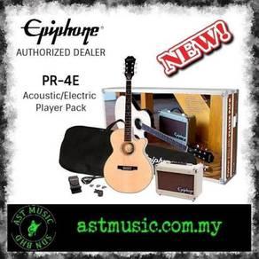 Epiphone PR-4E pr4e Acoustic Guitar Player Pack