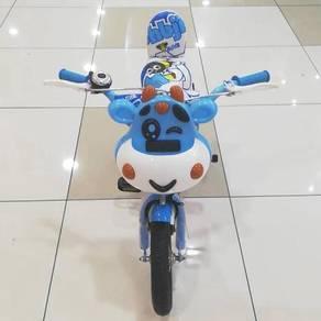 Basikal untuk kanak-kanak jb warna biru