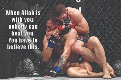 Poster KHABIB NURMAGOMEDOV UFC