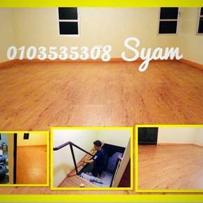 Papan Lantai Vinyl 3mm xv Laminate Floor 8mm