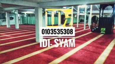 Saf Carpet / karpet masjid /turki19