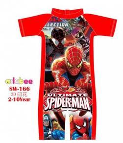 Baju renang swimsuit swimwear SW166 SPIDERMAN