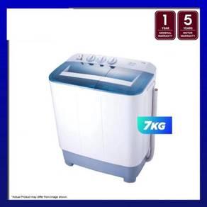 Midea msw-7118p 7kg semi auto washing machine-new