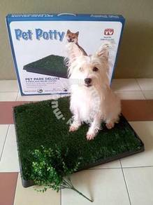 Indoor Pet Toilet Potty Park Deluxe