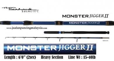 Seahawk MONSTER JIGGER 602hs 15-40lb
