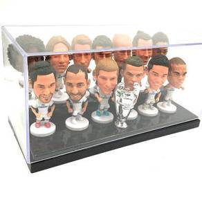 Real Madrid Champions League 16-17 toys + box set