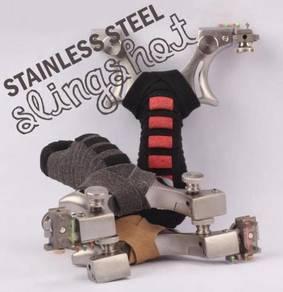 Stainless Steel Slingshot III | Lastik Steel