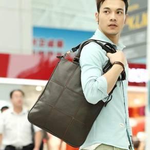 Brown Expandable Business Messenger Men Sling bag