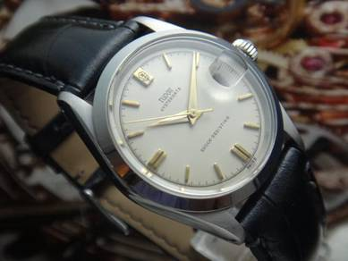 106) tudor vintage oysterdate winding watch