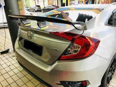 Honda civic fc Varis Carbon Fiber top Spoiler