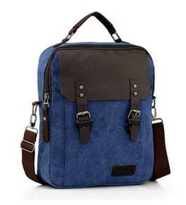 Alpha Helix Travel Bag Briefcase Backpack - Blue