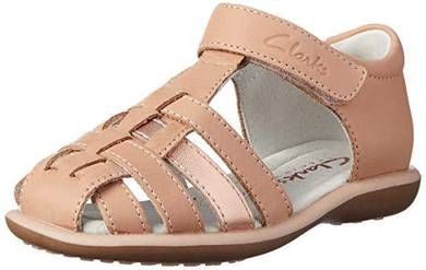 In Box Clarks Girl Piper Fashion Sandals Shoes