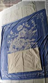 Queen Bed Sheet - 3 Sets for RM50