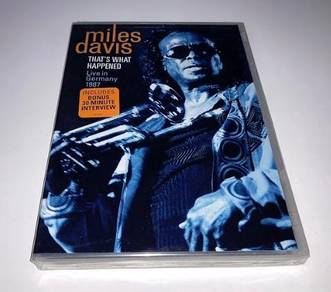 Miles Davis That's What Happened Germany DVD