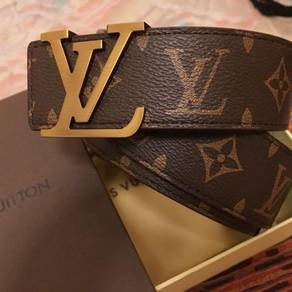 LV leather belt