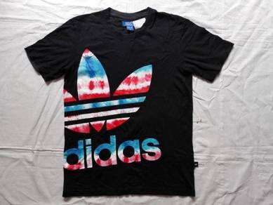 Adidas bunga tiedye tshirt