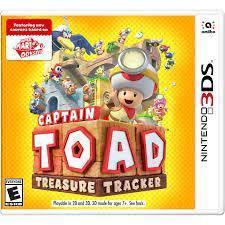 Nintendo 3ds games / Captain toad treasure tracker