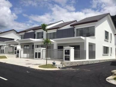 5min to Tesco Nilai   2 Storey House 20x70   Full Loan