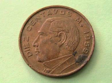 Mexico 10 Centavos 1959