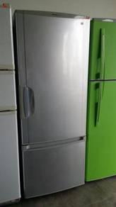 Grey Refrigerator Silver Freezer Panasonic Fridge