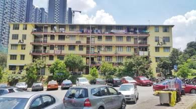 [below market value] flat sek10 wangsa maju near lrt wangsa walk