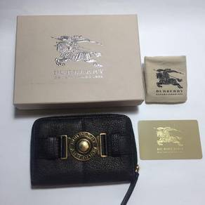Burberry London grain leather wallet