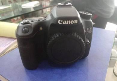 USED NIKON 70D camera body condition 96% like new