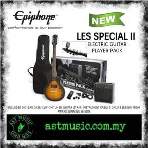 Epiphone Les Paul Player Pack Electric Guitar VS