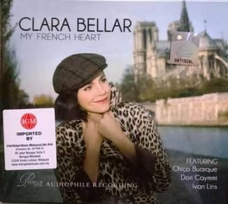 CD Clara Bellar My French Heart CD (Imported)