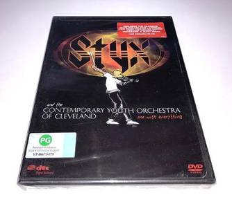 Styx One With Everything DVD (Imported)