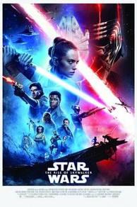 The rise of skywalker star wars poster