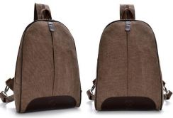 DeMartino Stylish Dual Use Bag Backpack - Coffee