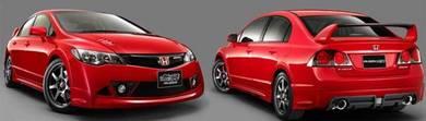 Honda civic fd Mugen rr BODYKIT material pp