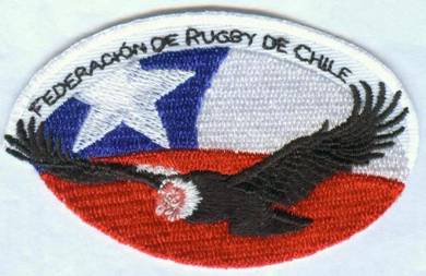 Chile National Rugby Union Team Embroidered Patch