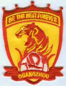 Guangzhou Evergrande FC China Football Patch