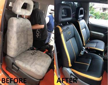 Nissan NV200 LEC Seat Cover Sports Series (ALL IN)