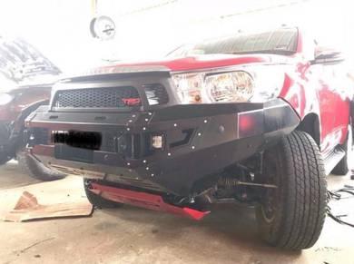 Ford ranger t7 t6 t8 metal front bumper bull bar 8