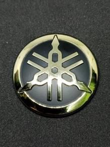 Emblem Yamaha Design Y15ZR - Gold Chrome
