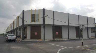 Spacious Single Storey Terrace Factory ( CORNER LOT ) REMBIA