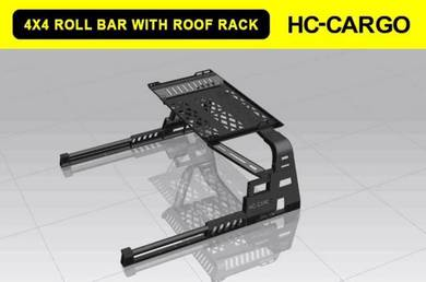Triton dmax bt50 steel roll bar with roof rack 3