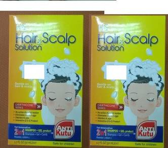 (50ML X 2 bottle) Hair & Scalp Solution + Shampoo