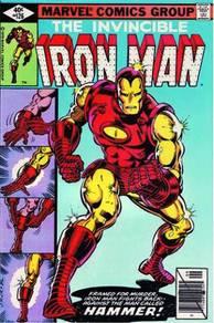Iron man marvel poster