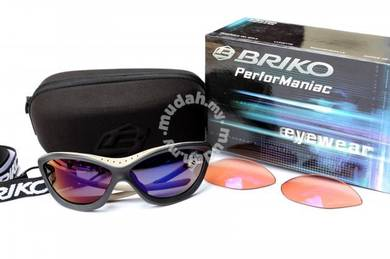 Briko WhitePeak summit series sunglasses - 2 lense