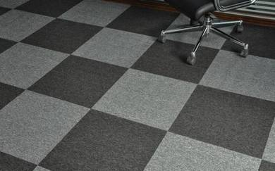 Dark grey caro Carpet tile for great offer
