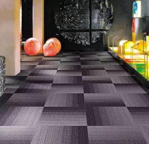 Blazed blue Carpet tile for great offer
