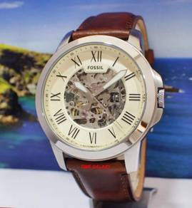 FOSSIL ME3099 Grant Automatic Dark Brown Leather