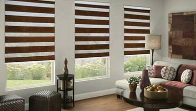 Zebra blind, bidai, roller blind, vertical blind