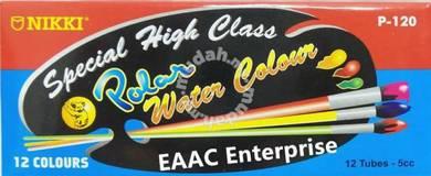 Nikki Polar Water Colour 12 colours 5cc
