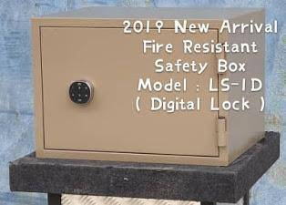 2019 New Arrival Fire Resistant Safety Box